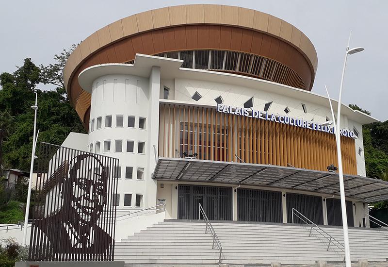 Palais De La Culture Felix Proto Les Abymes Guadeloupe Tourisme