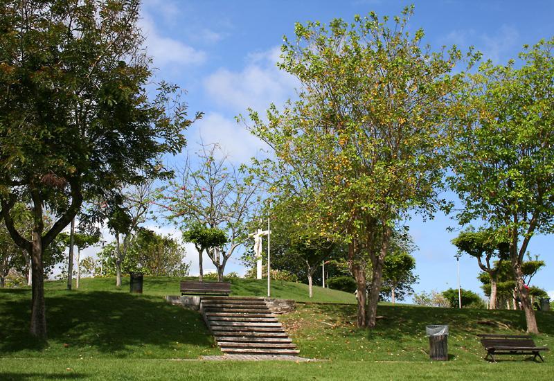 Parc paysager du calvaire le gosier guadeloupe tourisme for Amenager un parc paysager