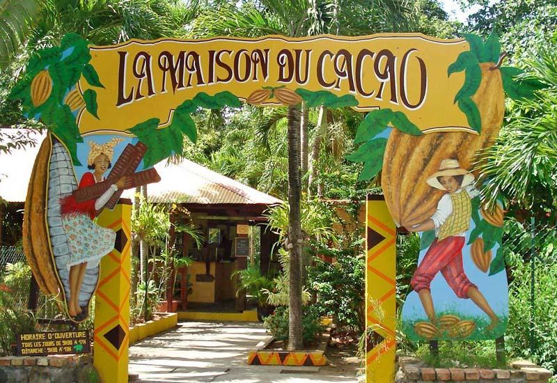 Maison du cacao pointe noire guadeloupe tourisme for La maison du sari