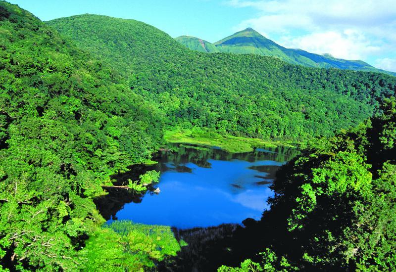 Résultats de recherche d'images pour «grand étang vue du ciel guadeloupe»